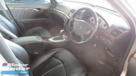 2006 MERCEDES-BENZ E-CLASS RAYA OFFER E280 V6 1 VIP OWNER
