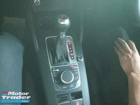 2016 AUDI RS3 AUDI RS3 2.5 TFSI QUATTRO