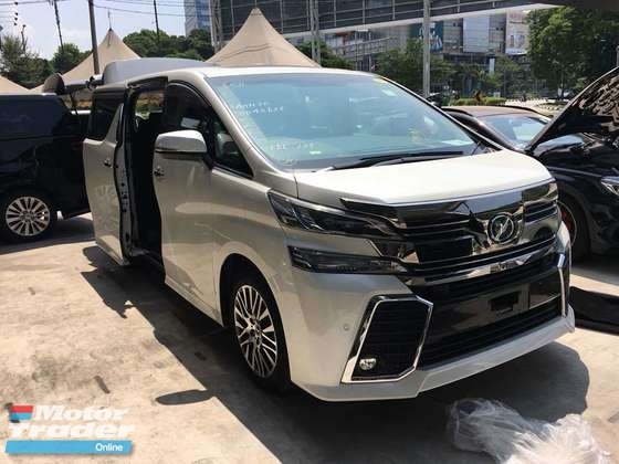 2015 TOYOTA VELLFIRE 2.5 ZG FULL SPEC ACTUAL YEAR MAKE 2015 GST INCLUSIVE
