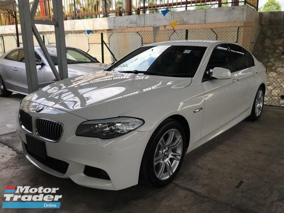 2013 BMW 5 SERIES 520I JAPAN SPEC M-SPORT HIGH LINE REAR CAMERA LIKE NEW CAR 0% GST