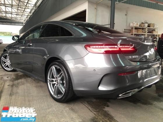 2018 MERCEDES-BENZ E-CLASS E300 AMG COUPE NEW CAR