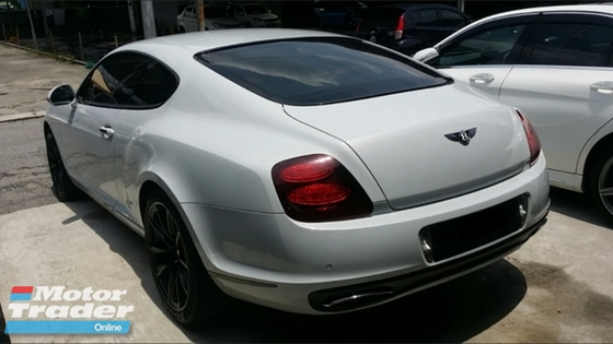 2010 BENTLEY GT BENTLEY CONTINENTAL GT SUPER SPORTS 6.0 V12 FOR SALES!