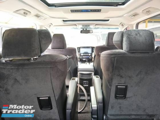 2016 TOYOTA ALPHARD 2.5 SC EDITION JAPAN UNREG 0% GST!!!