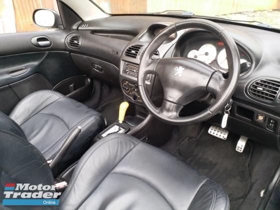 2003 PEUGEOT 206 2 DOOR CONVERTIBLE HARDTOP 1 ARTIST OWNER LIKE NEW CAR