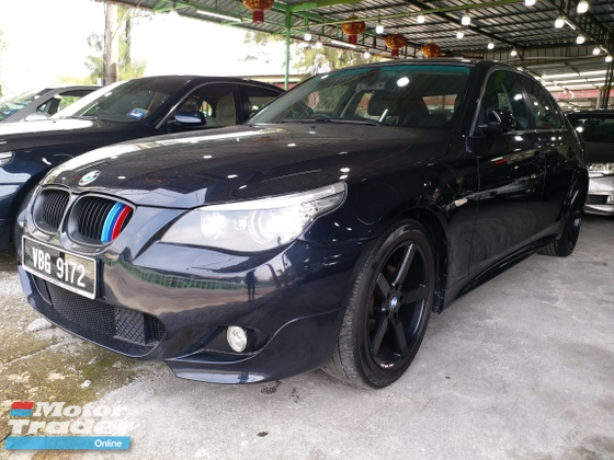 2008 BMW 5 SERIES 525 LCI M SPORT BODYKIT NO NEED REPAIR LIKE NEW