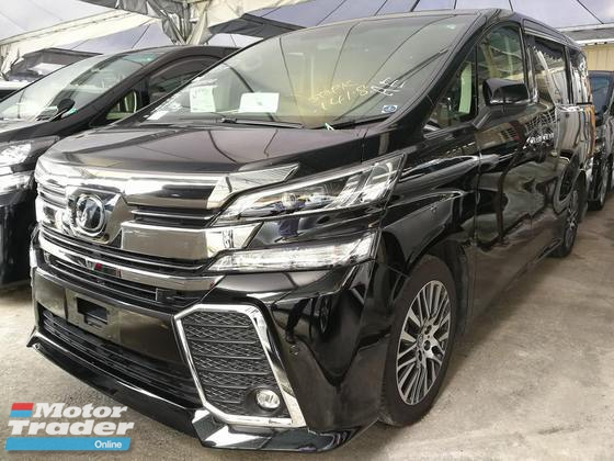 2016 TOYOTA VELLFIRE 2.5 ZG SUNROOF HIGH SPEC UNREG 2016