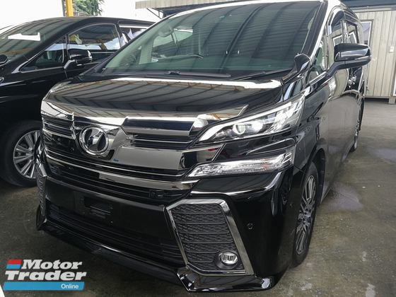 2016 TOYOTA VELLFIRE 2.5 ZG SUNROOF HIGH SPEC FREE WARRANTY UNREG
