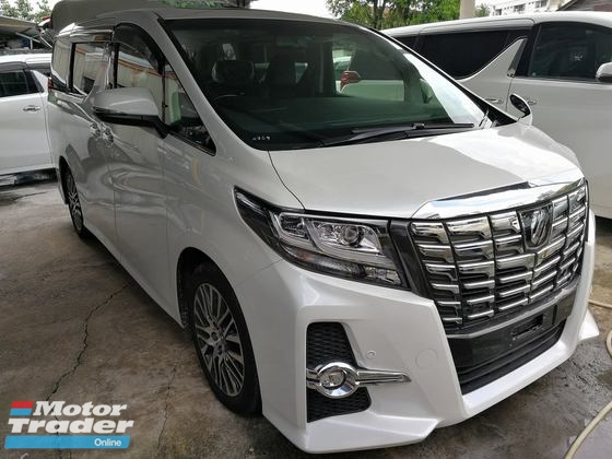 2015 TOYOTA ALPHARD 2.5 SC EDITION SUNROOF PILOT SEAT WARRANTY 1 YEAR UNREG