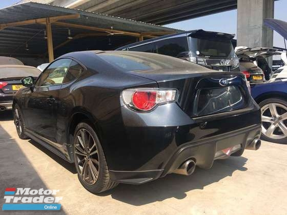 2013 SUBARU BRZ 2.0 BRZ 86 GT PRICE WITH GST 2013 JAPAN UNREG FREE GMR WARRANTY