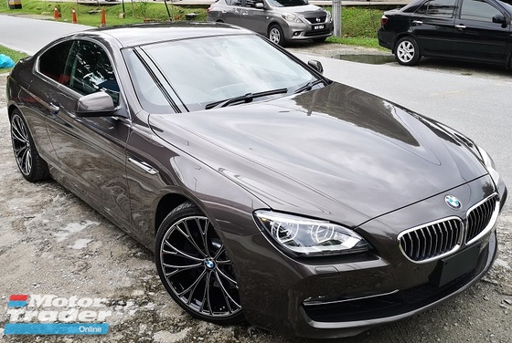 2013 BMW 6 SERIES 2013 BMW 640i COUPE 3.0 TWIN POWER TURBO JAPAN SPEC UNREGISTERED SELLING PRICE  ( RM 238,000.00 NEGO ) CAR BODY - GREY COLOR ( 1098 )