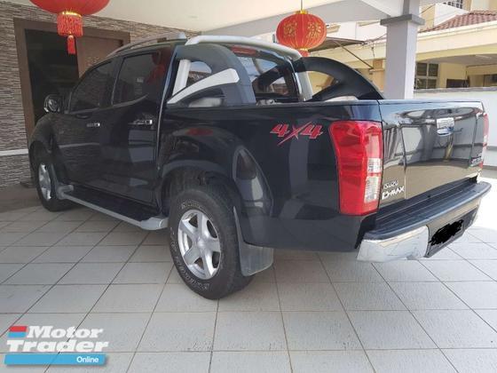 2013 ISUZU D-MAX 2.5L 4X4 DOUBLE CAB