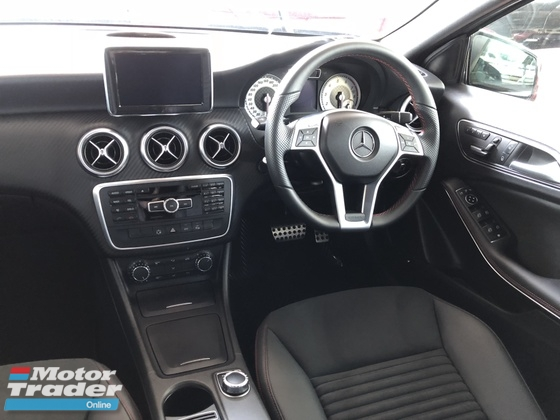 2013 MERCEDES-BENZ A-CLASS A180 AMG Sport Edition NO GST Distronic Memory Seat Daylight LED Paddle Shift Bluetooth Unreg