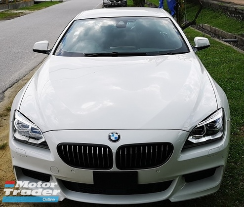 2013 BMW 6 SERIES 2013 BMW 640i MSPORT COUPE 3.0 TWIN POWER TURBO JAPAN SPEC UNREG