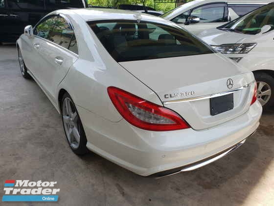 2013 MERCEDES-BENZ CLS-CLASS AMG Sunroof Rear Camera Pre Crash System Japan Spec Local AP Unreg (Price ZERO GST)