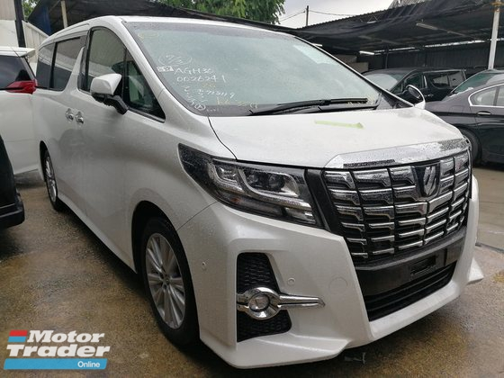 2015 TOYOTA ALPHARD 2.5 S SUNROOF FULL SPEC UNREG