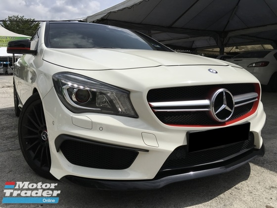 2014 MERCEDES-BENZ CLA 45 AMG (CBU) 2.0 4MATIC SPORT SUNROOF ONE OWNER EXCELLENT CONDITION