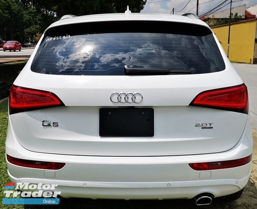 2013 AUDI Q5 2.0  TFSI QUATTRO JAPAN SPEC UNREG SELLING PRICE  ( RM 159,000.00 NEGO ) CAR BODY WHITE COLOR ( 6558 )