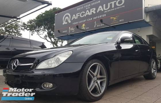 2006 MERCEDES-BENZ CLS-CLASS CLS350 V6 SUNROOF