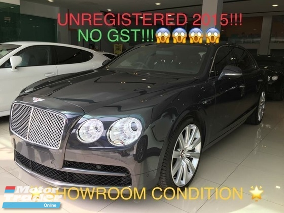2015 BENTLEY FLYING SPUR Unregistered 4.0 V8 Turbo