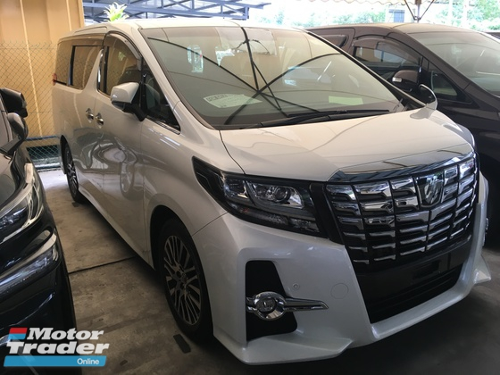 2015 TOYOTA ALPHARD SC PACKAGE MPV SUNROOF HOME THEATER POWER BOAT