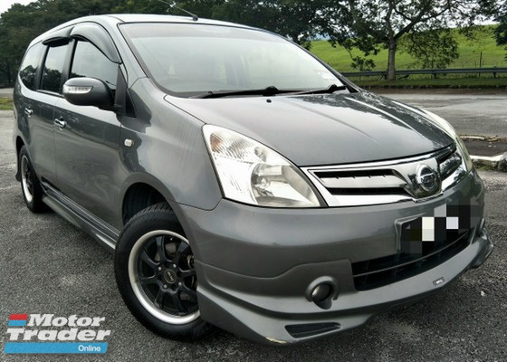 2013 NISSAN GRAND LIVINA 1.8 (A) TIP TOP CONDITION