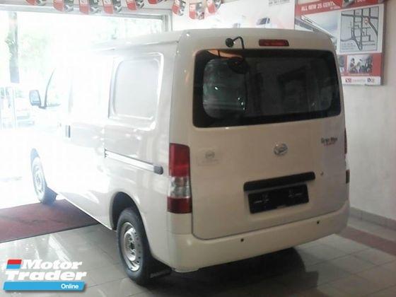 2018 daihatsu gran max panel van   ( baru ) gran max   panel van baru