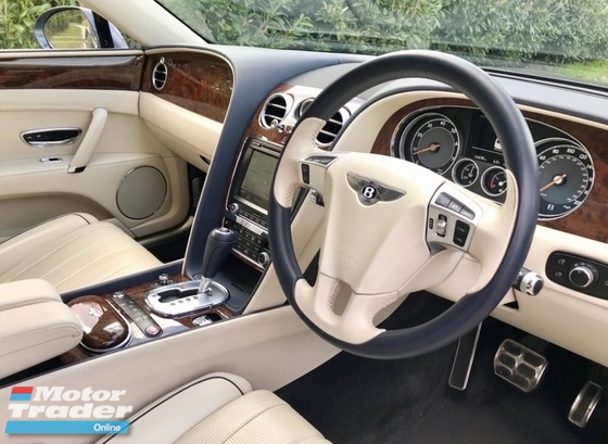 2014 BENTLEY FLYING SPUR 6.0 W12 JANUARY 2014
