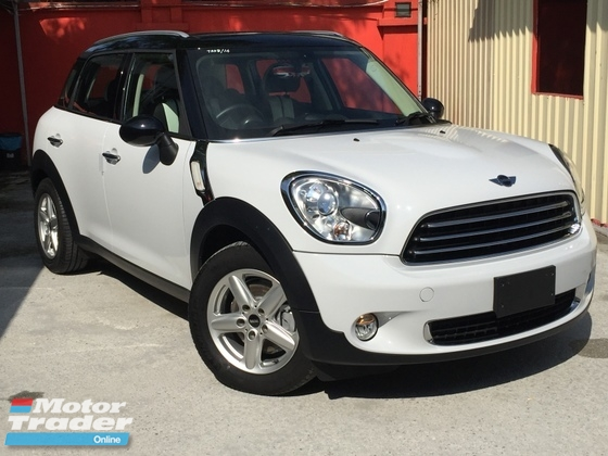 2014 MINI Countryman 1.6 (UNREG)