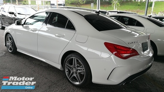 2014 MERCEDES-BENZ CLA 250 AMG GST Waived