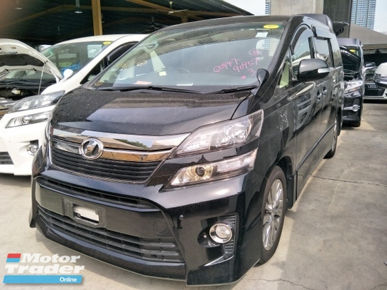 2013 TOYOTA VELLFIRE 2.4 GE SUNROOF HOME THEATER