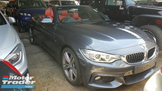 2014 BMW 4 SERIES 428i M-sport convertible unreg