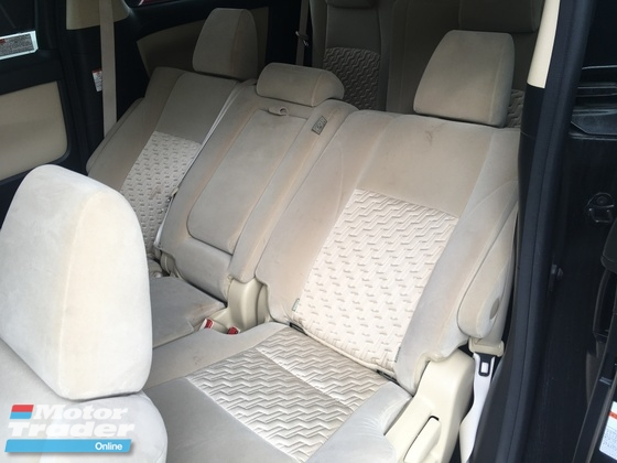2015 TOYOTA ALPHARD  2.5 S SERIES S SA SC 7 & 8 SEAT 0% GST OFFER SALES