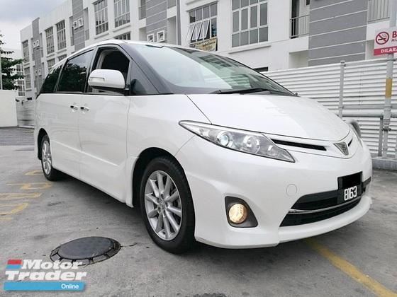 2012 Toyota Estima Aeras G Spec 2 4g Previa Low Mileage