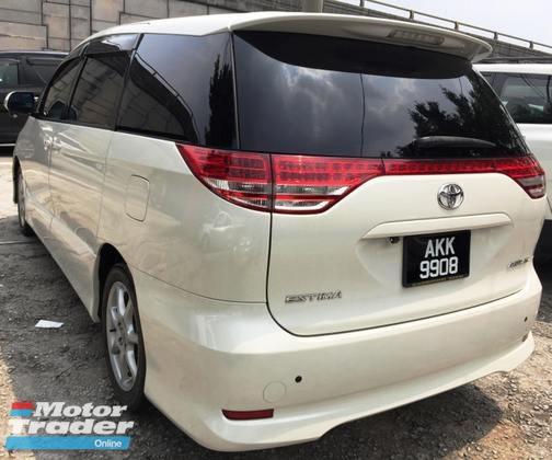 2007 TOYOTA ESTIMA Toyota Estima 2.4 (A)AERAS-G SPEC 2 P/DOOR 7SEATER