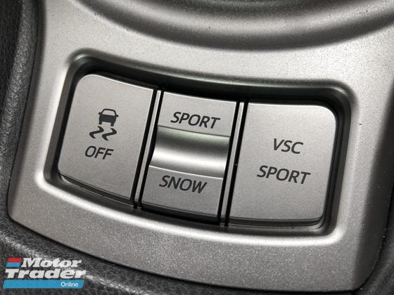 2013 TOYOTA 86 GT 86 2.0 Boxer NO GST D-4S 200hp 6 Speed LSD VSC Sport Push Start Button HVAC Paddle Shift Steering