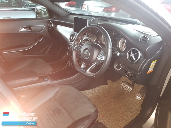 2015 MERCEDES-BENZ CLA 180 AMG SPORT LINE JAPAN SPEC(ACTUAL YEAR MAKE 2015) NO HIDDEN AND GST CHARGES