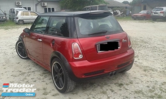 2006 MINI Cooper 1.6 S (A) TURBO CHARGER P/SHIFT