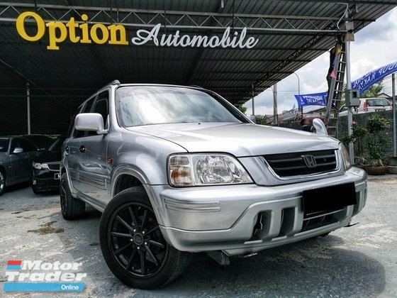 2001 HONDA CR-V 2.0 RD-1 RESERVE CAMERA / SPORT RIMS ADD ON