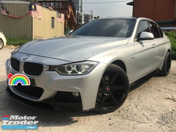 2014 BMW 3 SERIES 320i 2.0 (A) F30 M SPORT BODYKITS TWIN POWER TURBOCHARGE