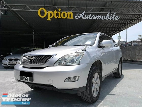 2009 TOYOTA HARRIER 240G PREMIUM L PACKAGE