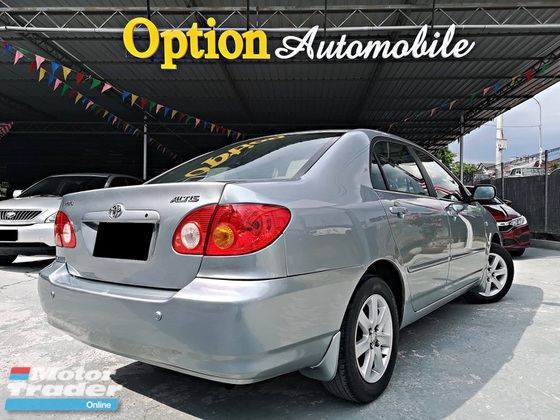 2001 TOYOTA ALTIS 1.8 LOWER PRICE IN MARKET NO ACCIDENT RECORD