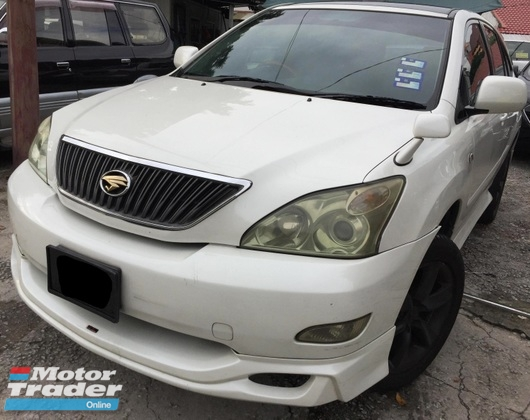 2004 TOYOTA HARRIER  2.4 PREMIUM L FULL SPEC P/ROOF
