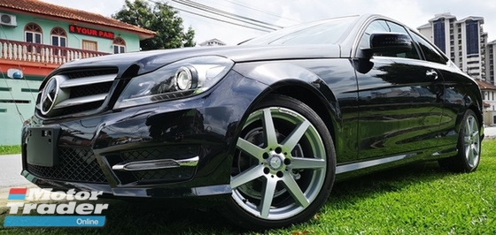 2013 MERCEDES-BENZ C-CLASS 2013 MERCEDES BENZ C180 COUPE 1.8 CGI AMG FACELIFT JAPAN SPEC SELLING PRICE  ( RM 129000.00 NEGO )