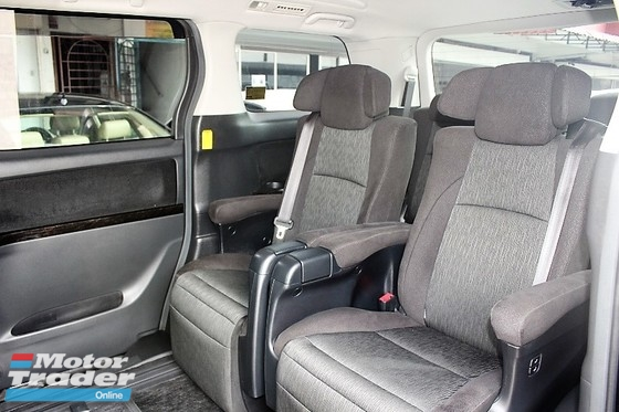 2012 TOYOTA VELLFIRE FACELIFT 2.4 ZG MPV (ACTUAL YR MADE 2012)(NO GST)(PILOT SEAT)(1 OWNER)(LOW MILE)(REG 2016)(VERY TIPTOP)(LIKE NEW)(KL CHERAS AREA)