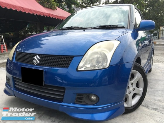 2007 SUZUKI SWIFT 1.5 PREMIER CBU BODYKIT LEATHER SEATS ONE OWNER TIP TOP CONDITION