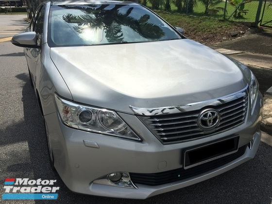 2012 TOYOTA CAMRY 2.5 V (A) HIGH SPEC / 1 OWNER/TIP TOP CONDITION