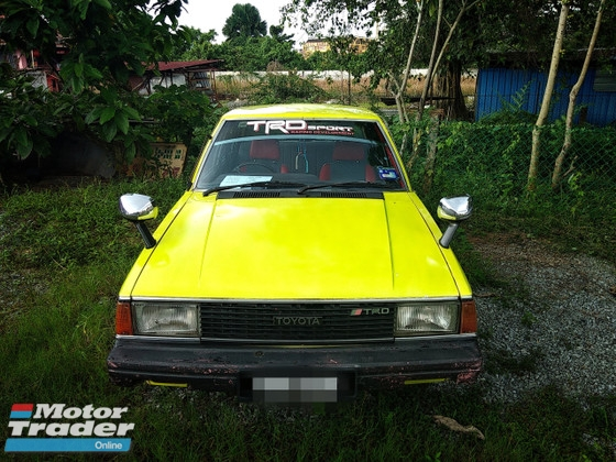 1982 TOYOTA COROLLA 1.3 GL Sedan(MANUAL)1982 Only CAREFUL LADY Owner, LOW Mileage, TIPTOP, ACCIDENT-Free, DIRECT-Owner, NEGOTIABLE