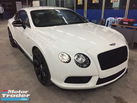 2015 BENTLEY CONTINENTAL GT 4.0 V8 (UNREG)