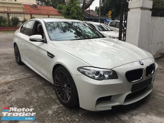 2014 BMW M5 SPORT 4.4 V8 TWIN TURBO (UNREG)