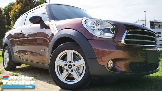 2014 MINI PACEMAN 2014 MINI PACEMAN 1.6A ALL4 JAPAN SPEC UNREG SELLING PRICE ( RM 118000.00 NEGO ) CAR BODY COPPER